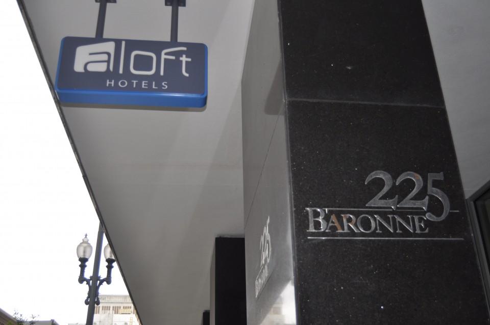 Aloft Hotel New Orleans
