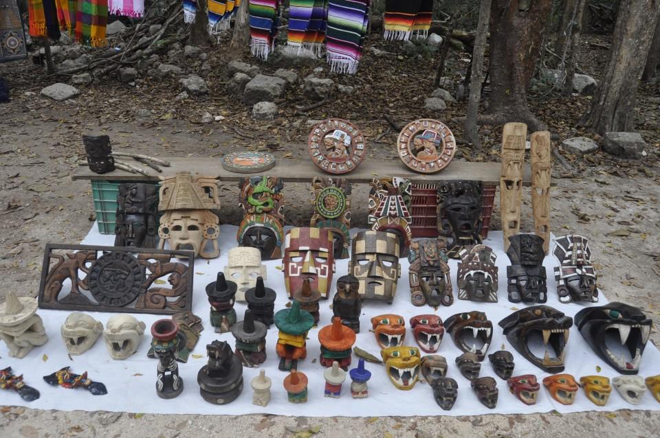 Chicen Itza, Mexico, Local market