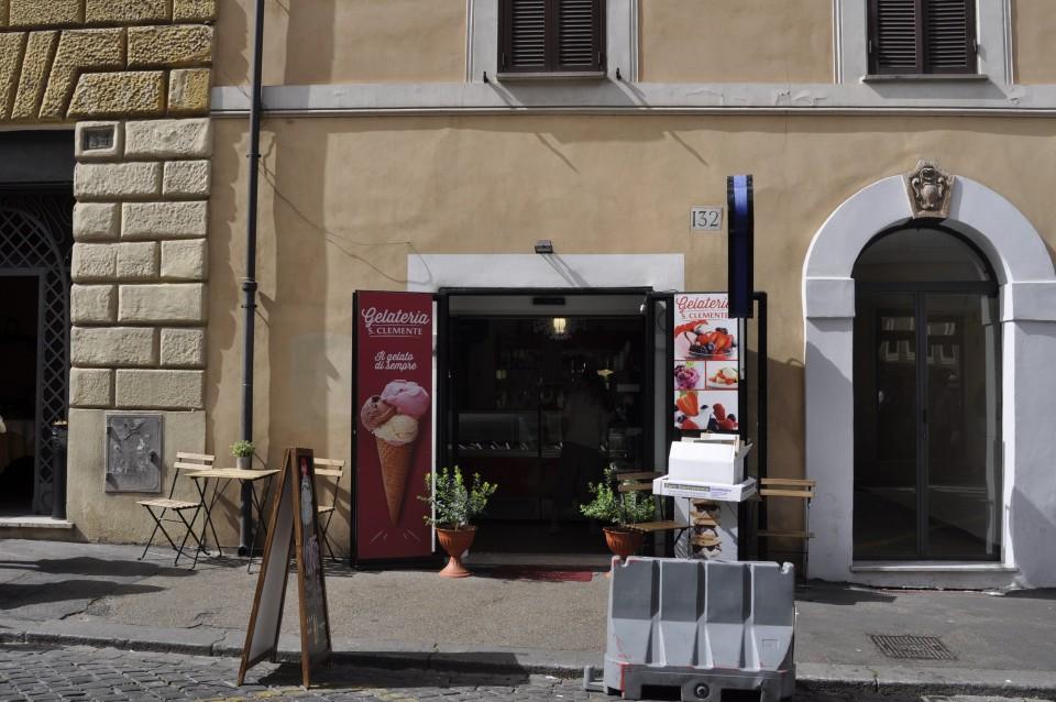 Gelato, Rome, Italy