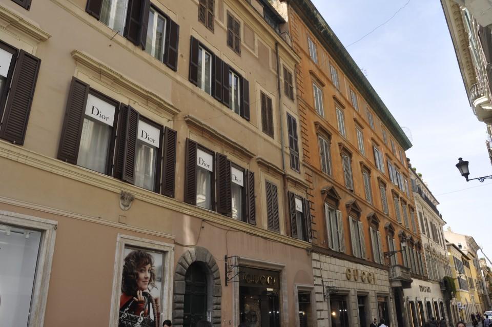Rome, Italy, Designer, Dior, Prada, Travel Tips